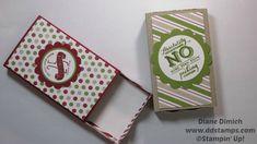 Stampin' Up! Envelope Punch Board matchbook boxes