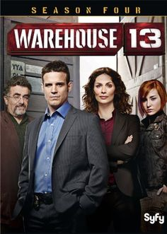 Warehouse 13: Season Four DVD ~ Eddie McClintock,Return to Warehouse 13 for more supernatural mysteries and paranormal adventures with SyFy's most popular series ever! Join Pete, Myka, Artie and their quirky crew on the chase for fantastical new artifacts across the globe and through time.