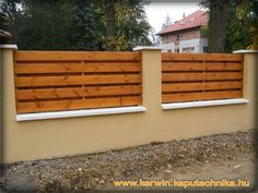 9 Rewarding Tips AND Tricks: Garden Fencing Ideas Metal Fence Ideas At Home Depot.Garden Fence X Wooden Fence Backyard. Garden Fence Panels, Fence Plants, Front Yard Fence, Farm Fence, Garden Fencing, Fenced In Yard, Horse Fence, Fence Gate, Brick Fence