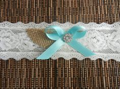 Wedding Garter Belt, Bridal Garter, Garter, Wedding Garter, Lace Garter, Bride Garter, Tiffany Blue Bow Garter, Wedding Garter Burlap