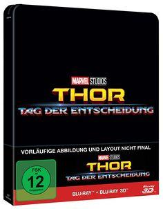 Thor: Tag der Entscheidung (2D+3D) (Steelbook)