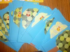 Literacy and Laughter - Celebrating Kindergarten children and the books they love: Having a Hoot with  kinder greeting card