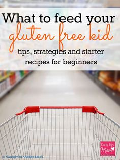 Feeding your gluten free kid can be overwhelming when you're first starting to go gluten free. Whether you're dealing with food allergies or celiac disease, this post gives tips and strategies, meal ideas for kids (breakfast, lunch and snacks) plus a shor Gluten Free Snacks, Gluten Free Diet, Foods With Gluten, Dairy Free, Gluten Free Recipes For Kids, Paleo Diet, Paleo Food, Gluten Free Lunch Ideas, 7 Keto