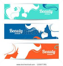 Illustration of Banners with stylish beautiful woman silhouette. Template design cards vector art, clipart and stock vectors. Free Banner, Print Layout, Woman Silhouette, Banner Printing, Booth Design, Beautiful Women, Clip Art, Stock Photos, Templates