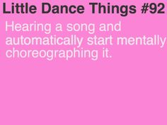 Little Dance Things: