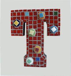 Mosaic Letter T