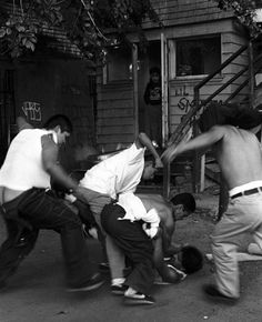 Latino street gang culture is rife – a world, within a world with its own rules, rituals, politics and personalities.  The bold and talented photographer Robert Yager