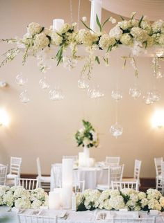 Wedding table flowers and candles hanging lanterns ideas Wedding Table Flowers, Wedding Reception Decorations, Wedding Centerpieces, Floral Wedding, Wedding Aisles, Wedding Backdrops, Wedding Ceremonies, Ceremony Backdrop, Hanging Candles