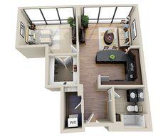 - One Arlington House Floor Design, Pool House Designs, Sims 4 House Design, Home Design Floor Plans, Home Building Design, Tiny House Layout, House Layout Plans, House Layouts, Sims House Plans