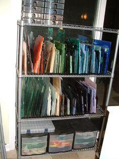 More sheet glass storage!