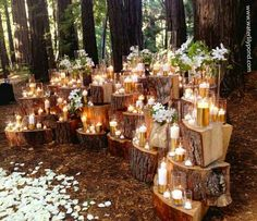 would love something like this for alter area for the ceremony