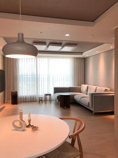 Apartment Interior, Apartment Design, Room Interior, Interior Design Living Room, Living Room Designs, Dream Home Design, House Design, Home Living Room, Living Room Decor