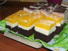 Mirinda szelet - Sütemény receptek Cheesecake, Food And Drink, Candy, Cheesecakes, Cherry Cheesecake Shooters