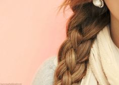Braid with four strands? Really cute