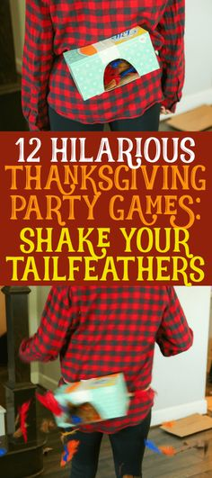 These 12 Thanksgiving games are not only funny, they're perfect for any age - for kids, for teens, for adults, for family, and even for toddlers! Played in minute to win it style, you can DIY these quickly then play inside or outdoor. So skip the scavenger hunt and other activities and try these Thanksgiving party games this Thanksgiving instead. I know I will be!