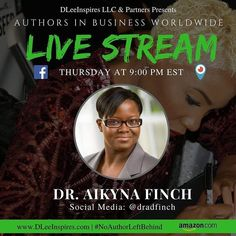 Doing my Thursday topic at 9:31pm EST tonight on Periscope! Join me at @dradfinch