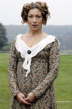 Alex Kingston as Mrs. Bennet in Lost in Austen(2008)