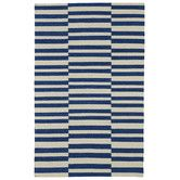 Found it at AllModern - Nomad Geometric Navy/Ivory Area Rug