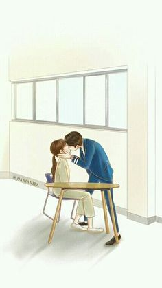 W- Two worlds Cute Couple Cartoon, Cute Couple Art, Anime Love Couple, Cartoon Pics, Cute Anime Couples, W Two Worlds Wallpaper, World Wallpaper, Cartoon Wallpaper, Kdrama