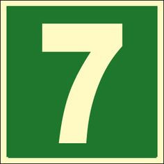 images of number 7 | your psyche or nature number is 7 if you are born on 7 16 25 dates of ...
