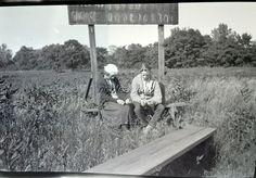 1910's Young Love Boy Girl Baseball Scoreboard Des Plaines Photo Negative | eBay