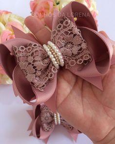 Diy Bow, Diy Ribbon, Ribbon Crafts, Flower Crafts, Ribbon Bows, Hair Ribbons, Ribbon Hair, Baby Bows, Baby Headbands