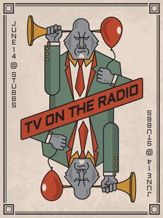 TV on the Radio is an American art rock band formed in 2001 in Brooklyn, New York, whose music spans many diverse genres, from post-punk to electro to soul music.  The group has released several EPs including their debut Young Liars (2003), and four critically acclaimed studio albums: Desperate Youth, Blood Thirsty Babes (2004), Return to Cookie Mountain (2006), Dear Science (2008), and Nine Types of Light (2011).