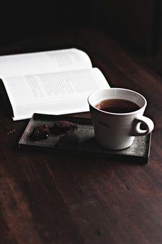 Tea and books... need I say more! :)