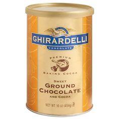 Sweet Ground Chocolate and Cocoa -#GhirardelliChocolate