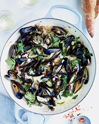 Mussels with Pancetta and Crème Fraîche (Primal)