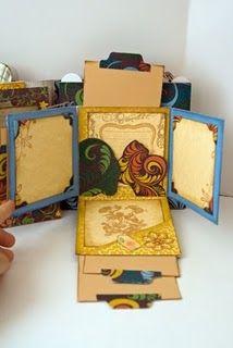 #papercraft #scrapbook #minialbum mini album page