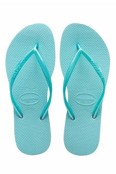 e725bbc1686fc Havaianas Slim Logo · Blue Flip FlopsSandalsSlimLogoShoesClothesSlide ...