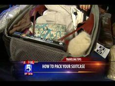 Organizing For One Suitcase Travel. Watch this video to learn how to bundle fold your clothes and maximize the space within your suitcase.