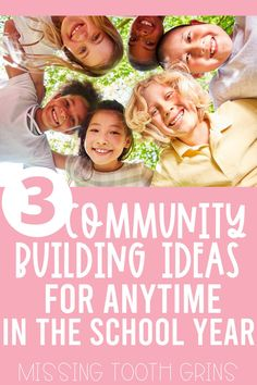 Build relationships and connect with your students anytime in the year, not just during the back to school season! These 3 simple community building ideas will be engaging for your kindergarten, first, and second grade students throughout the school year. Plus, grab a free download! #communitybuilding First Grade Writing, Teaching First Grade, First Grade Classroom, First Grade Math, Kindergarten Classroom, Second Grade, First Grade Activities, Back To School Activities, Reading Activities