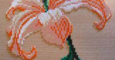 flower hama perler beads | hama beads | Pinterest | Perler Beads, Flower and Beads