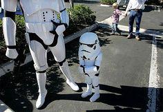 Little boy #starwars #trooper