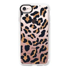TIGER FUR - iPhone 7 Case And Cover (52 CAD) ❤ liked on Polyvore featuring accessories, tech accessories, iphone case, clear iphone case, apple iphone case, iphone cases and iphone cover case