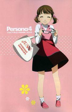 Tags: Shin Megami Tensei: PERSONA 4, Shuji Sogabe, Doujima Nanako, Official Art