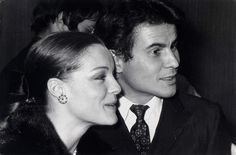Complice avec Horst BuchholzDe beaux moments avec l'acteur allemand,HorstBuchholz, originaire de Berlin dans les années 1950.