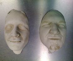 How To Cast a Face in Plaster. I did this in art class. Use the plaster face to make paper mache masks. Essentially you make a plaster mold.