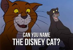Can You Name The Disney Cat