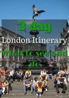 How to spend 3 days in London