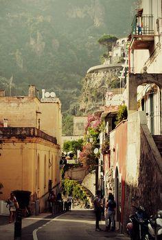 .Positano, Italy.