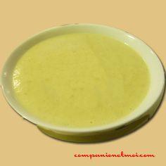 Crème de courgettes et pommes de terre