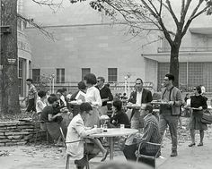 Eating at Union Terrace 1960-1969