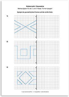 Download => Geometrie => Linien und Figuren spiegeln (1)