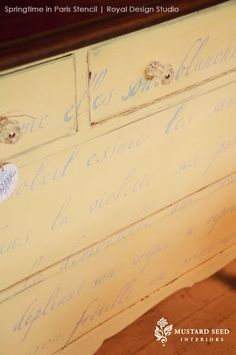 Wall Stencils | French Wall Quotes & Vintage Design | Royal Design Studio