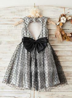 A-Line/Princess Knee-length Sleeveless Flower Girl Dress Flower Girl Dress Girls Dresses, Flower Girl Dresses, Groom Dress, Wedding Party Dresses, Special Occasion Dresses, Fashion Dresses, Princess, House, Dresses Of Girls
