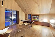 The Lodge at the Hills is a beautiful villa for rent in Arrowtown, New Zealand. New Zealand Country, South Island, Mountain View, Corner Desk, Villa, Luxury, Modern, Table, Furniture