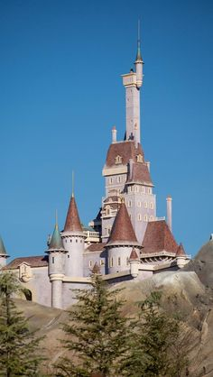 New Beauty and the Beast Castle - Disney World, was totally built in Argyle New York, shipped to Orlando and assembled.